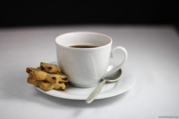 cranberrysterne, tasse kaffee