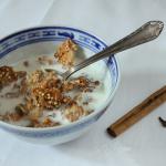 Mandel-Quinoa-Granola