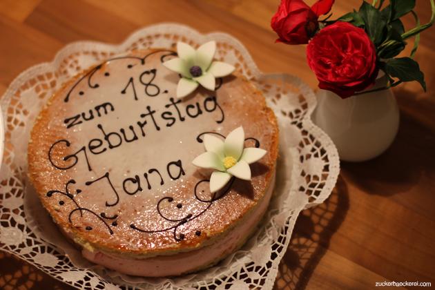 Geburtstagskuchen Zum 18 Zuckerbackerei