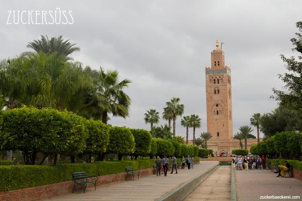 Die Koutoubia-Moschee in Marrakech