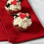 Erdbeer-Kokos-Cupcakes