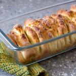 Pfirsich-Pull-Apart-Bread