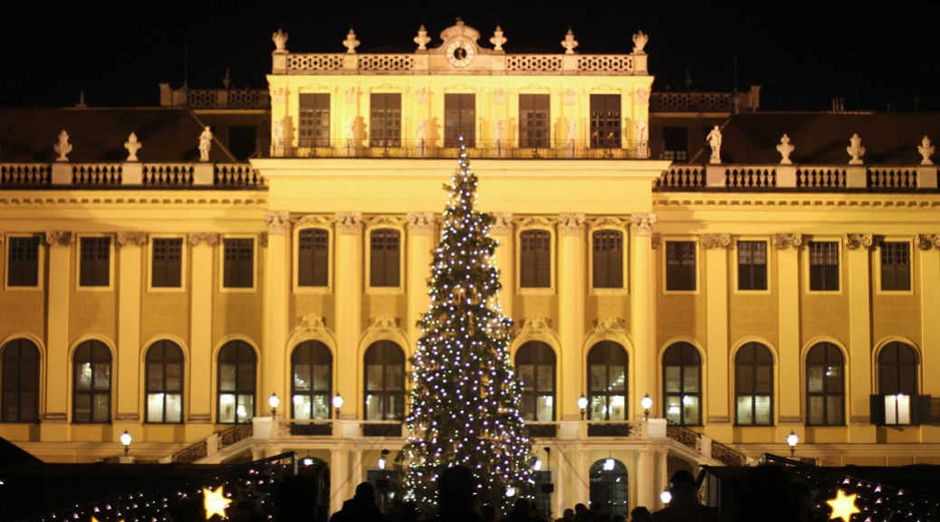 Zuckersüß 181 - Schloss Schönbrunn Weihnachten Wien