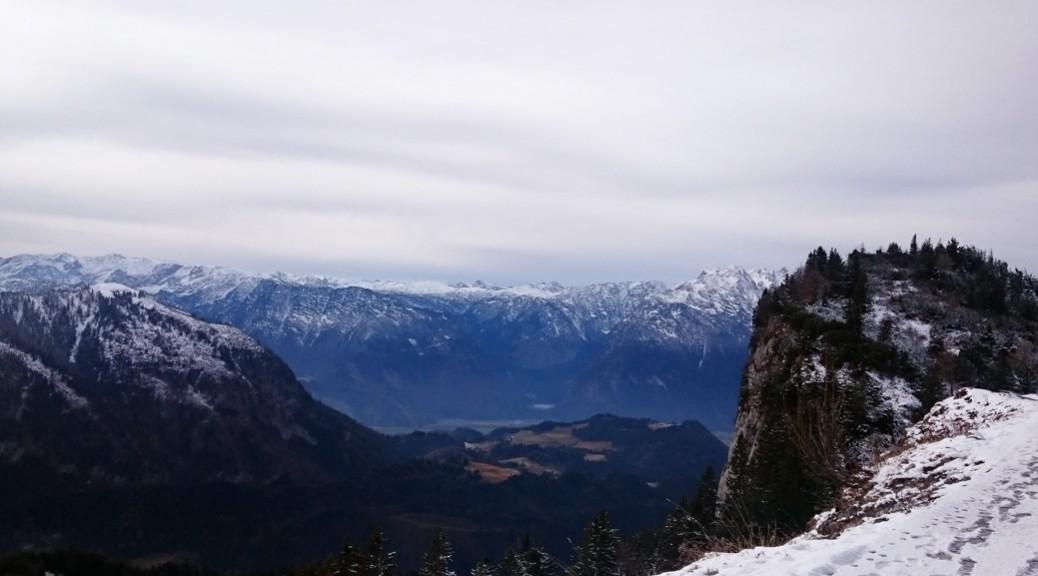 zuckersuess184 - Blick vom Trattberg im Schnee