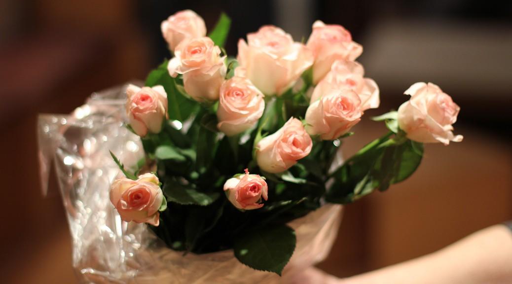 zuckersuess186 - Ein Strauß Rosen