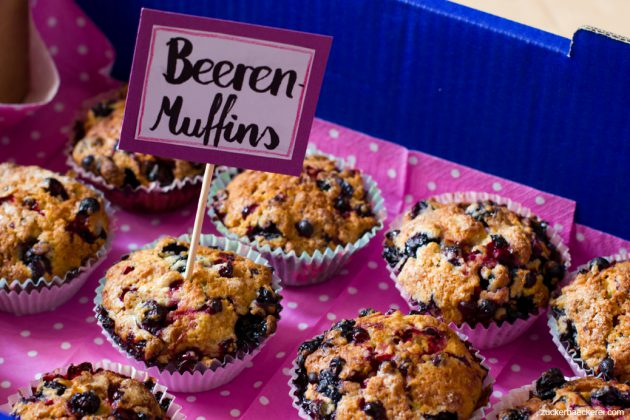Beerenmuffins