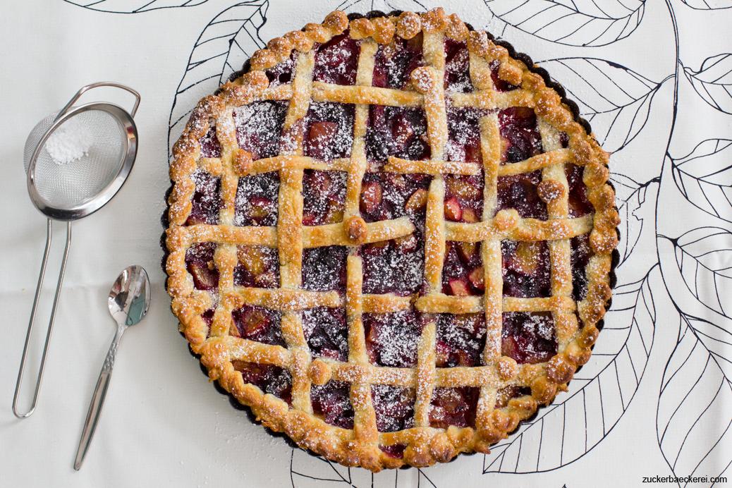 Pfirsich-Heidelbeer-Pie