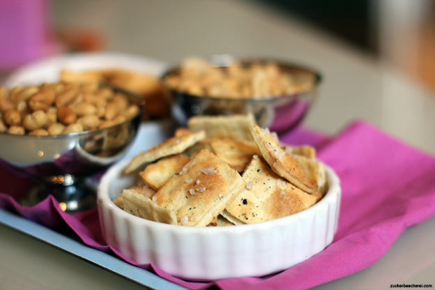 Salz-Pfeffer-Cracker
