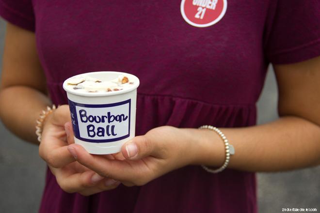 Bourbon Ball Ice Cream