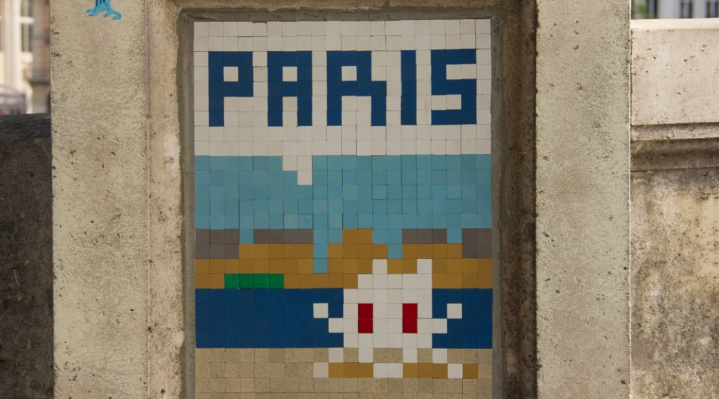 Paris- Space Invader