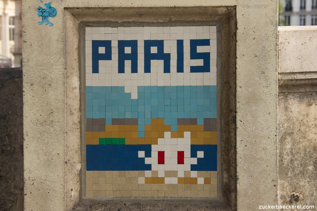 Paris- Space Invader
