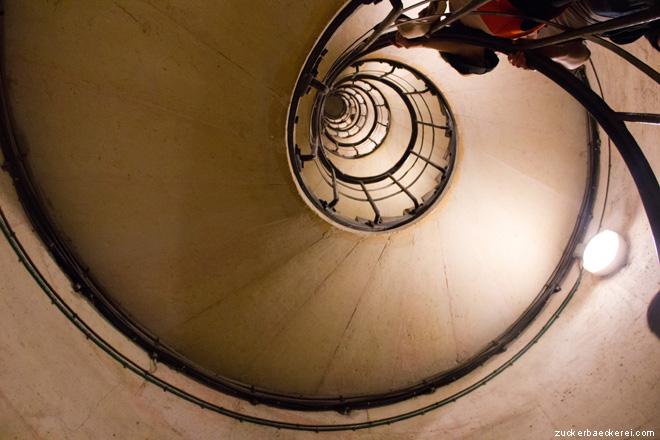 Treppenhaus Arc de Triomphe