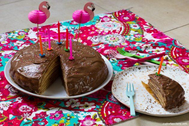 Pfannkuchen-Kuchen