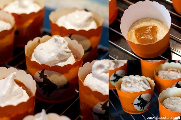 1. Versuch Walnuss-Muffins mit Apfelkaramell