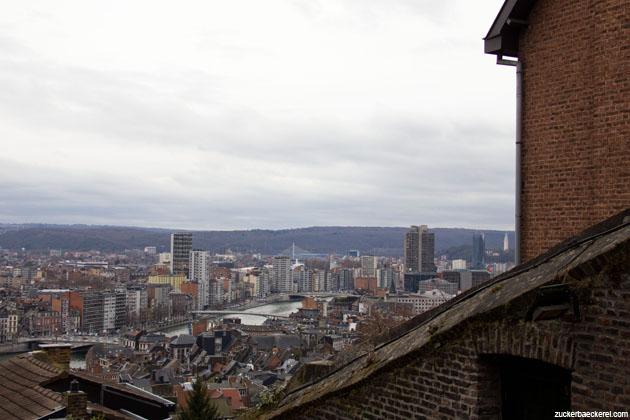 Liège von oben