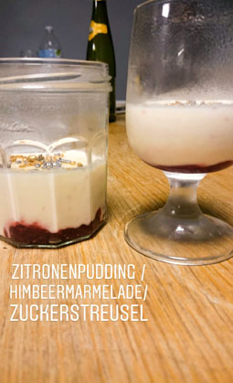Zitronenpudding