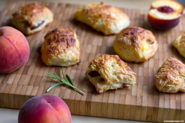 pfirsich-rosmarin-scones