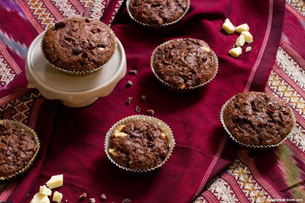 Muffins von der Seite