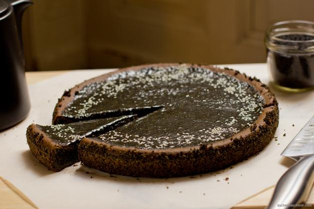 Mochi Kuchen mit schwarzem sesam