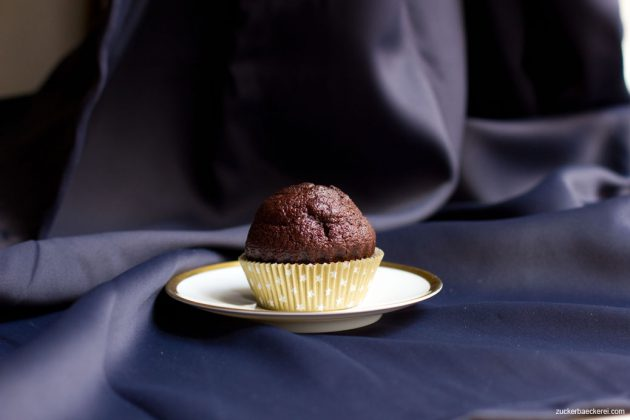 Schoko-Tahini-Cupcakes