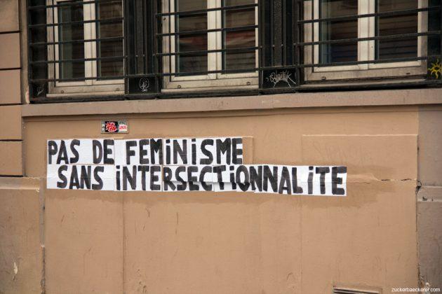 Pas de feminisme sans intersectionalité (Kein Feminismus ohne Intersektionalität)