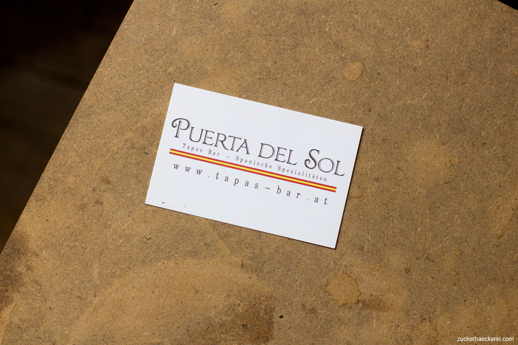 Visitenkarte Puerta del Sol