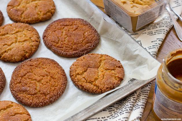 Erdnussbutter-Miso-Cookies