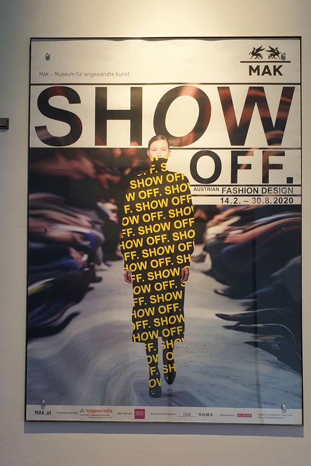 "Ausstellungsplakat ""Show Off"""