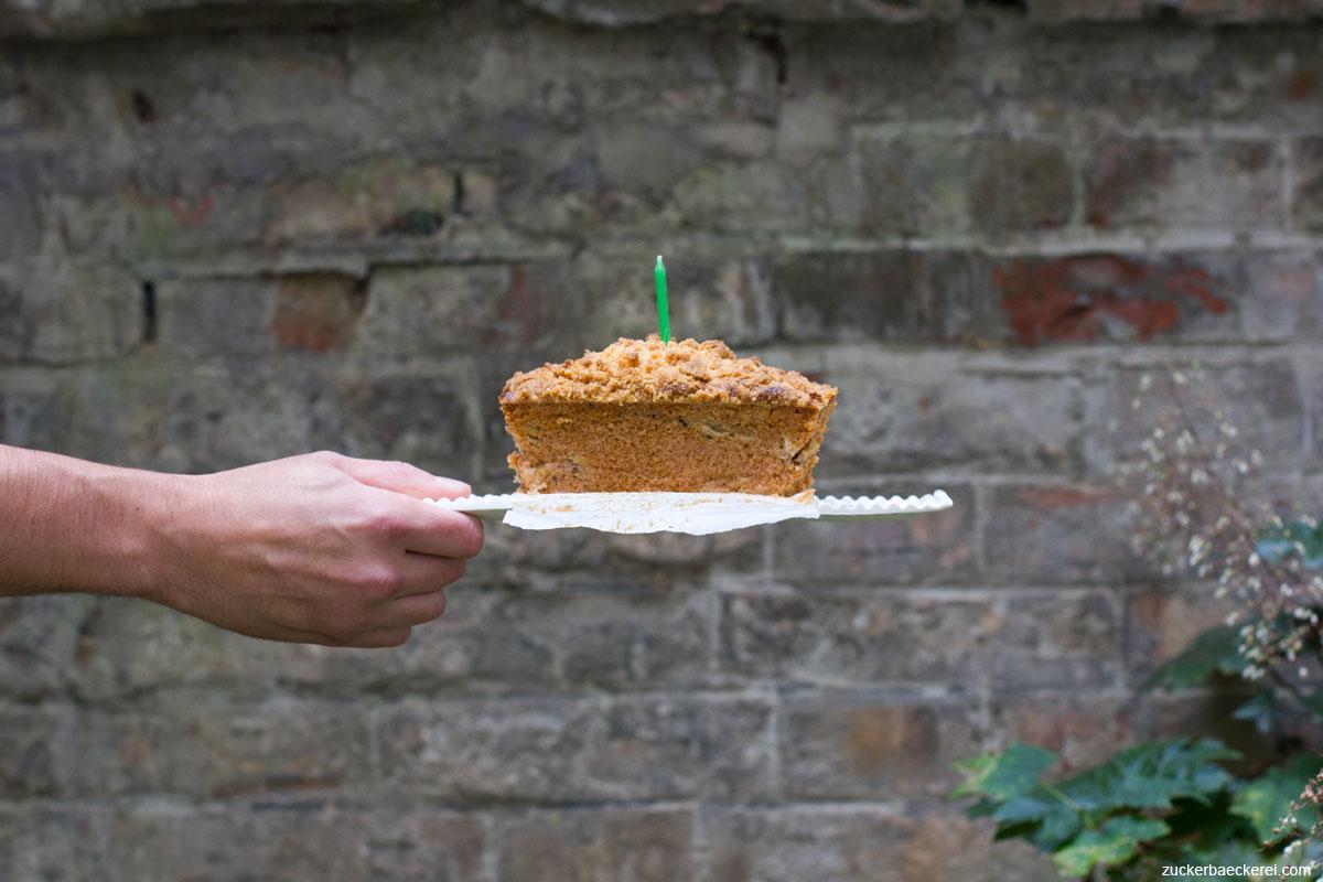 Amaretto-Streuselkuchen