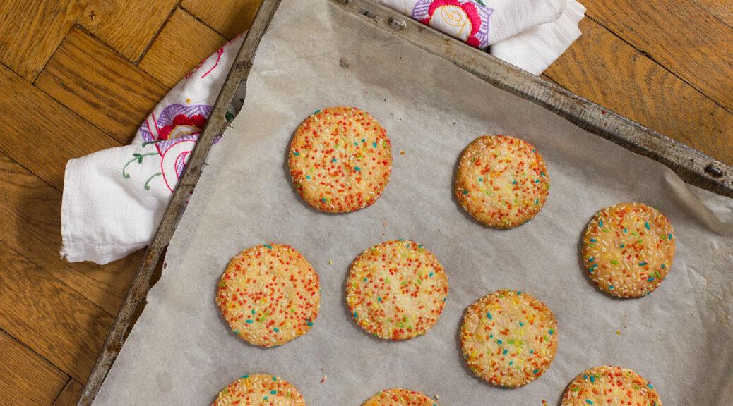 zuckerstreuselcookies