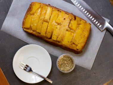 Ananas-Fenchel-Kuchen nach Helen Goh