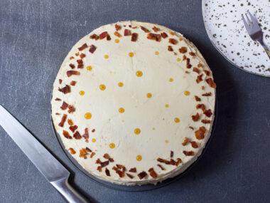 Ahornsirup-Bacon-Torte
