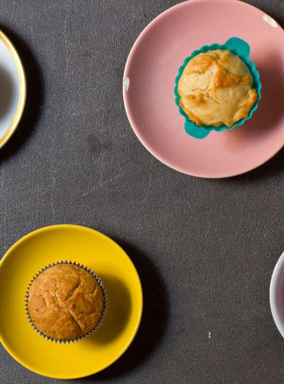 Vegane Zitronenmuffins, Testreihe