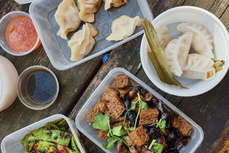 Vorspeisen von der China Kitchen