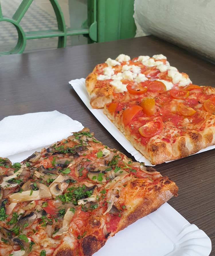 SOPHOS Pizzastücke