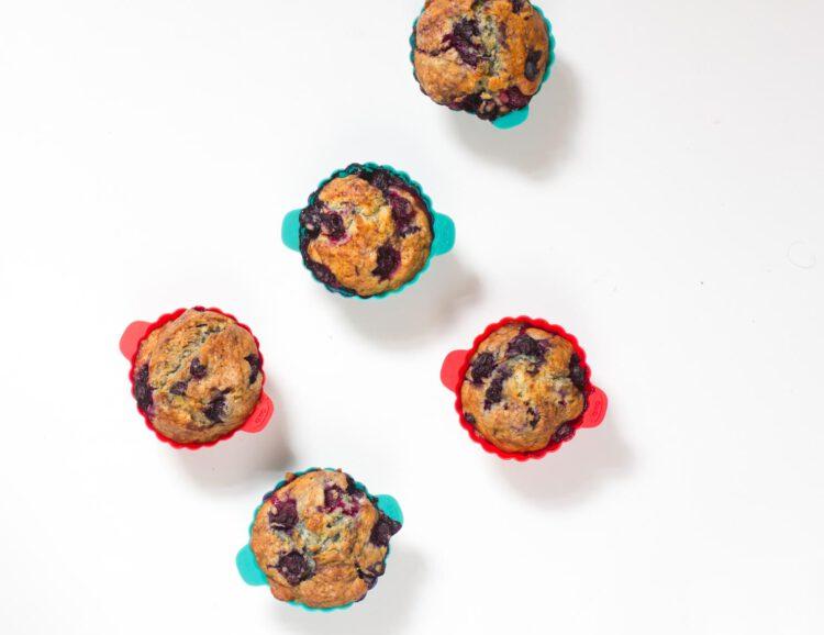 Heidelbeer-Lavendel-Muffins