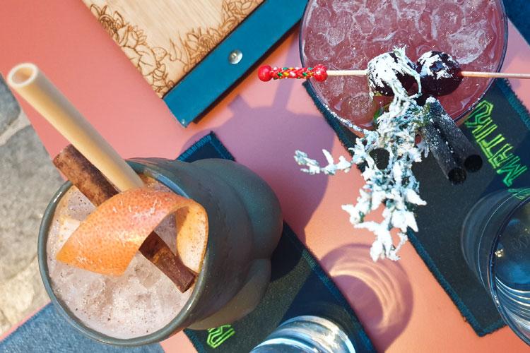 cocktails in der Matikibar