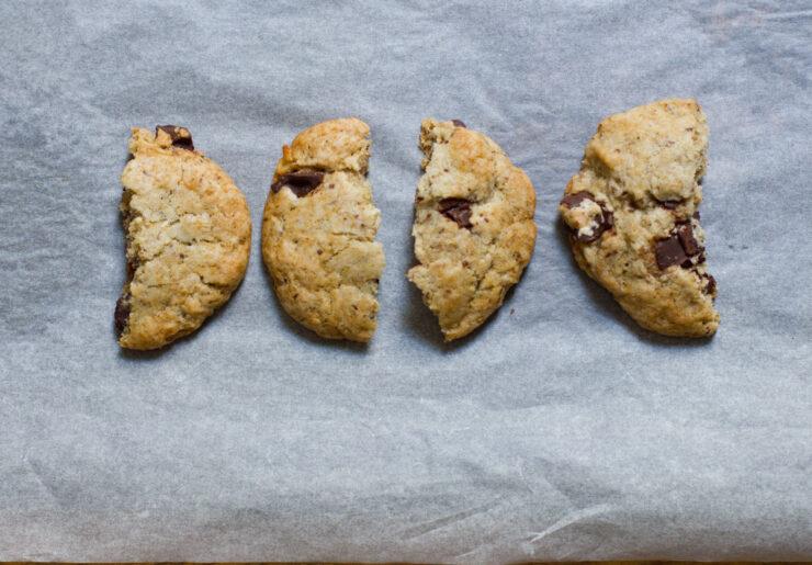 Vegane Bananen-Schoko-Cookies