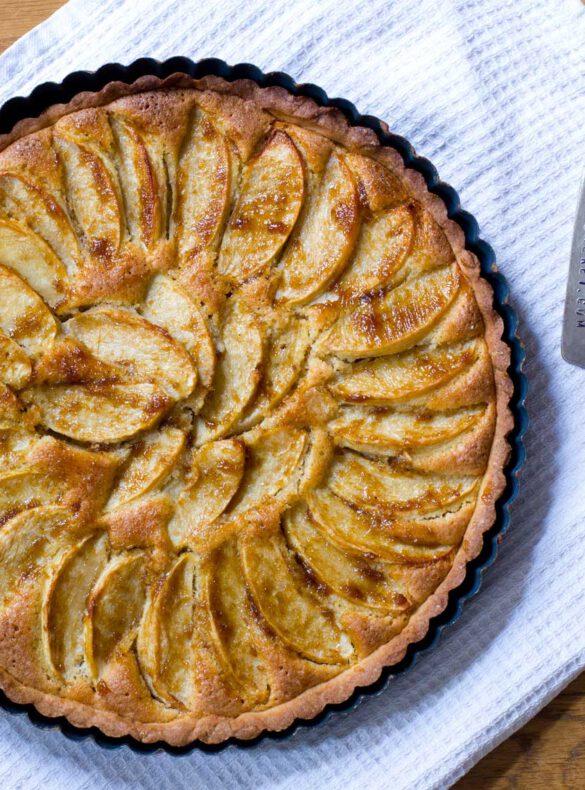 Apfel-Frangipane-Tarte